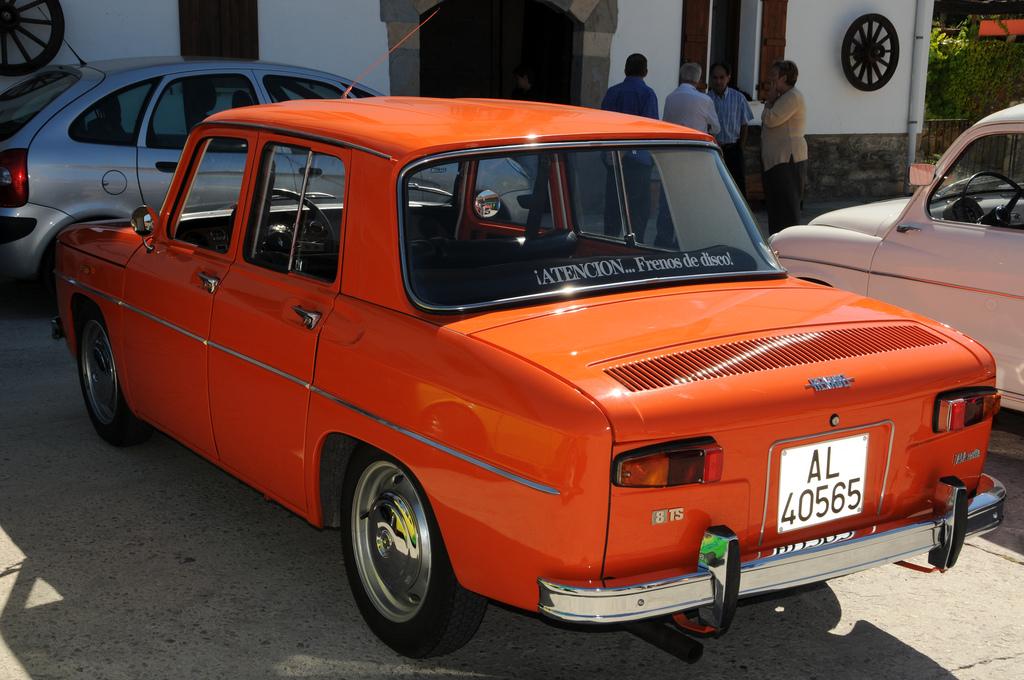 Renault 8 Ts 1968 1976 8000vueltas Com