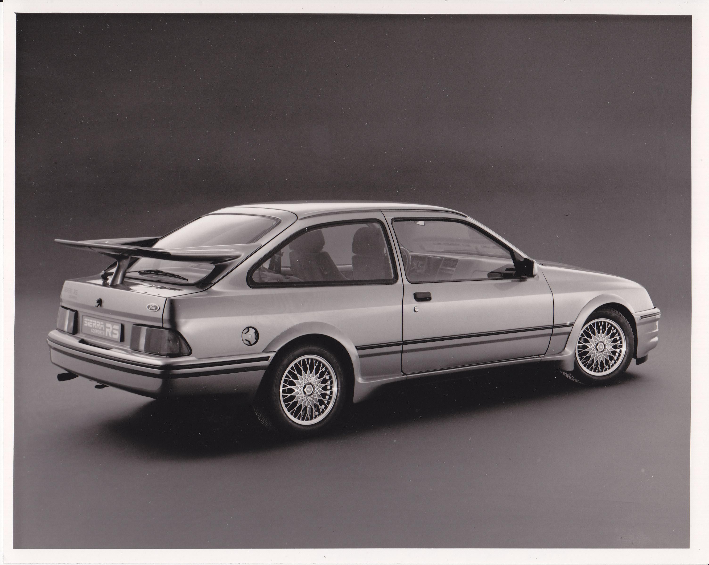Conoce la historia del Ford Sierra RS Cosworth de 1985
