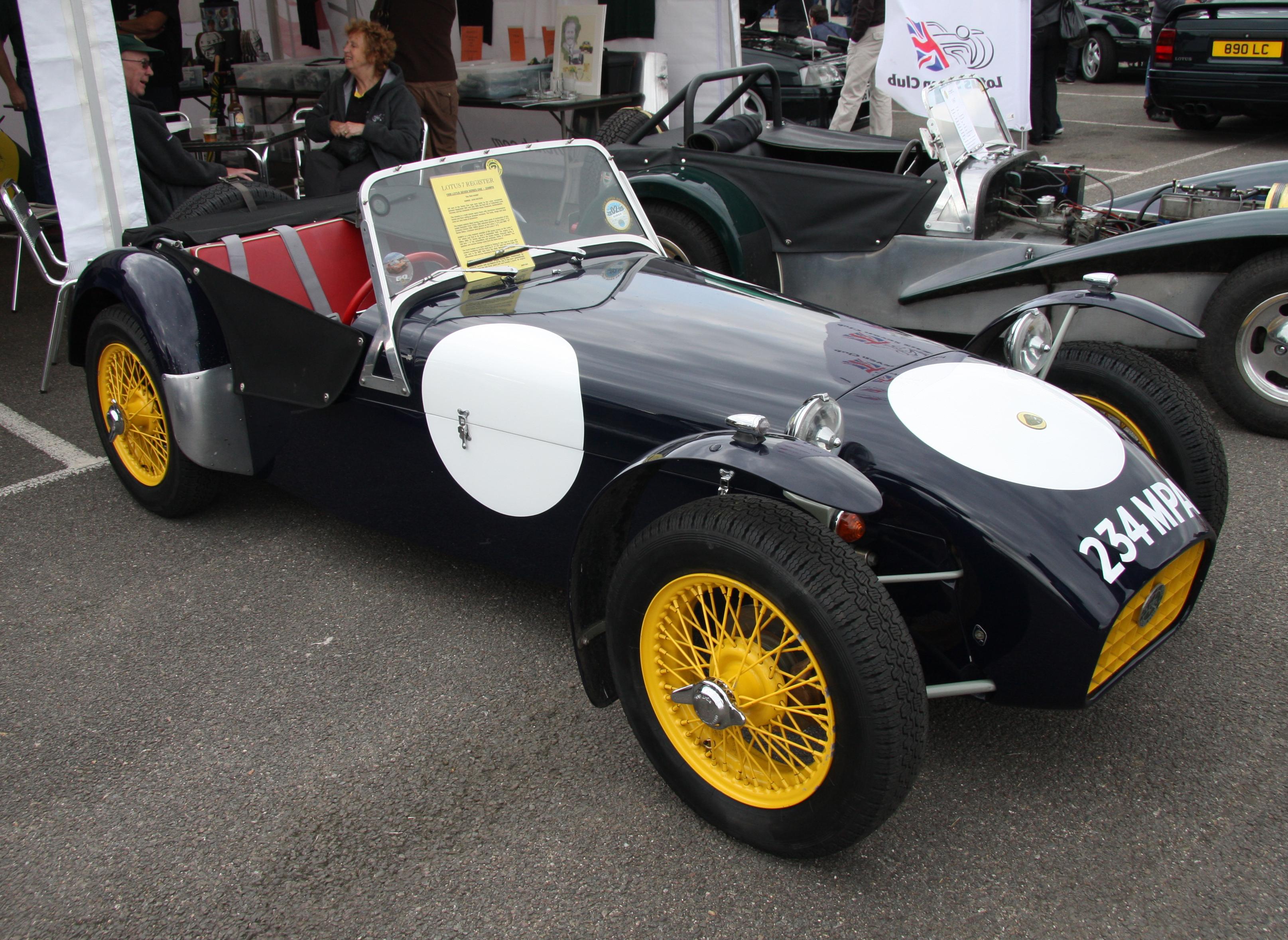 Lotus Super Seven Kit De Deportividad 8000vueltas Com