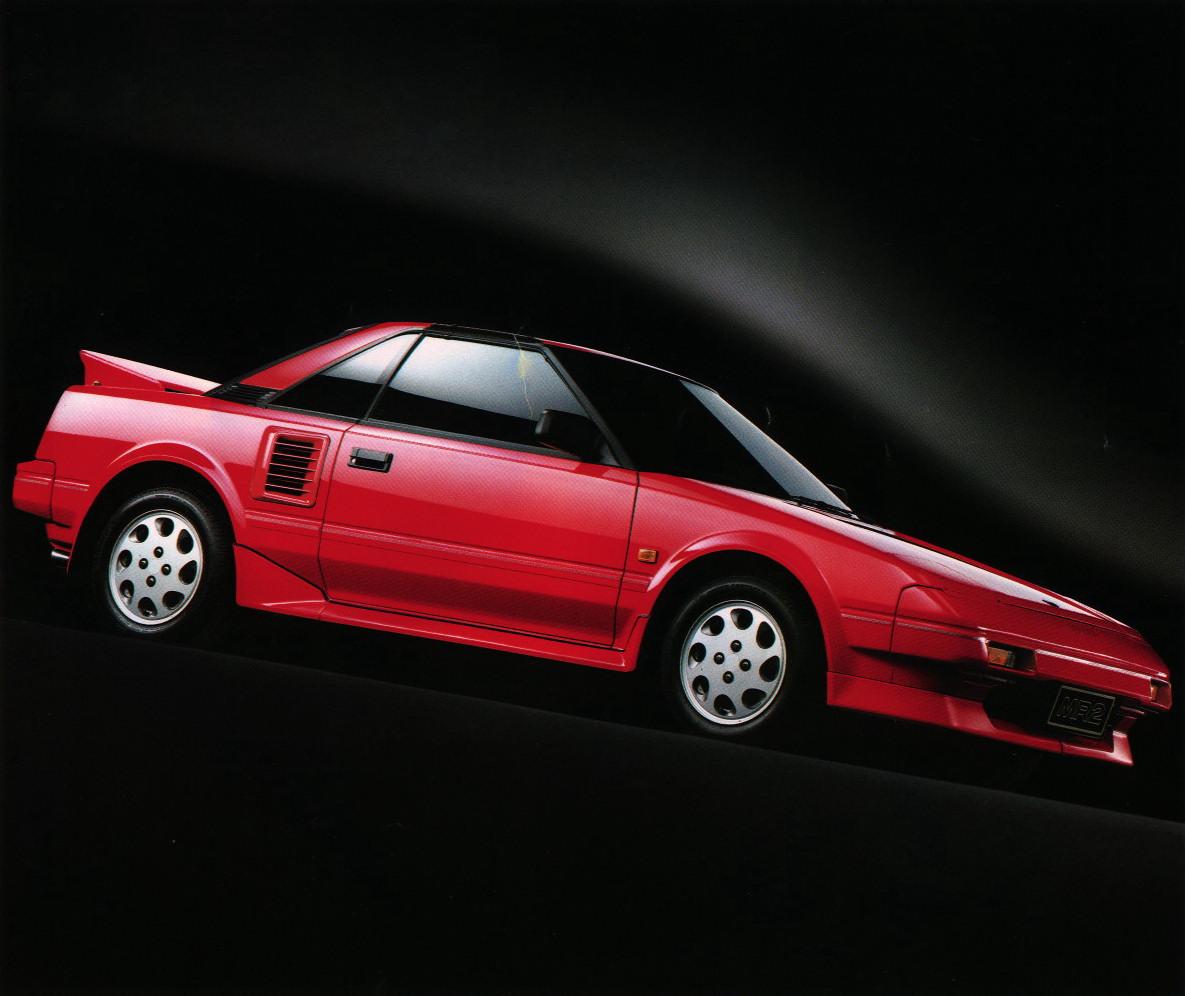 Toyota El Centro >> Toyota MR2 AW11, el primer motor central nipón ...