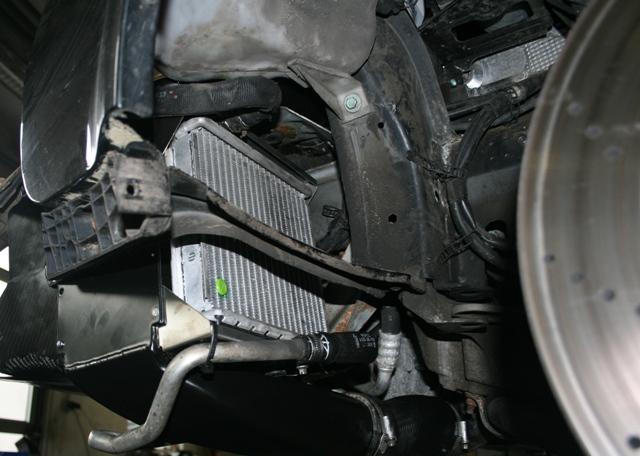 Radiador extra del Audi RS6 Plus