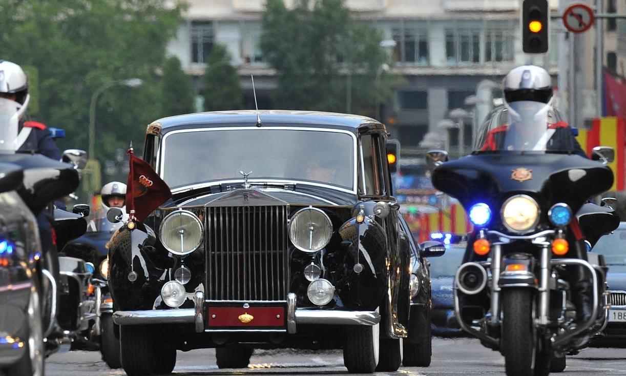 Las Carrozas Del Estado Espa 241 Ol Los Rolls Royce Phantom