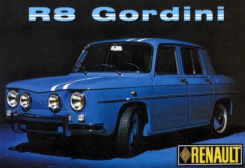 renault 8 gordini 1100 y 1300. Black Bedroom Furniture Sets. Home Design Ideas
